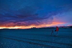 Iceland-waiting for a miracle by PatiMakowska