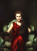 Lady In Red by JALpix