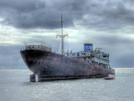 old ship2 HDR by DEATH9DEATH