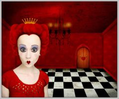 The Red Queen of Hearts by PsdDude