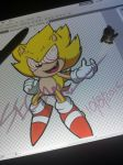 Fleetway Super Sonic by SEGAMew