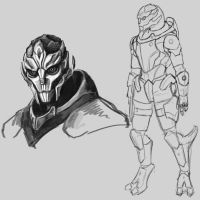 Femturian Sketches by Sin-Vraal