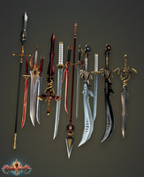 Blade Lords - Weapons by PLyczkowski