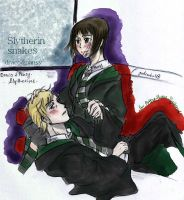 SLYTHERIN draco pancy by orangehope