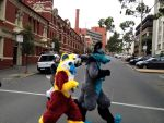 ConFurgence 2015: Fursuit parade (4) by EagleIronic