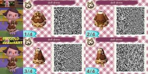 animal crossing new leaf QR design 1 by BETGOLD