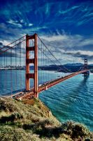 The Golden Gate Bridge by TreborEevob