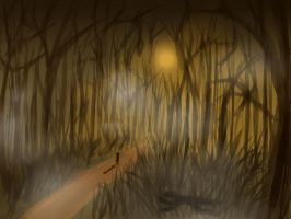 Creepy forest by juli12355
