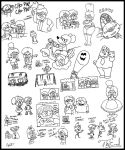 Sketch Dump: This Ain't No Kids Show by AgentC-24