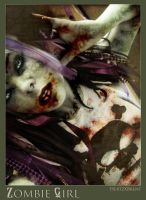 Purple 2 Zombie style by HertzXBrent