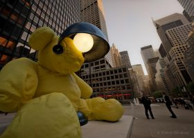 giant teddy by Tomoji-ized