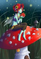 AT: Amanita muscaria by Kiwa007