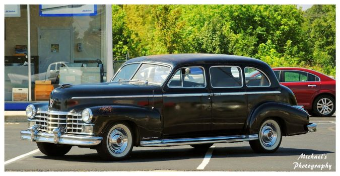 A 1947 Cadillac Limo by TheMan268