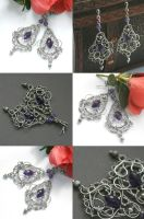 Amethyst marquises by SweetCandyDreams