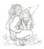 Sketch - Getting There (Tock the Gnome) by rachelillustrates