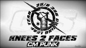 CM Punk Knees to Faces by themesbullyhd