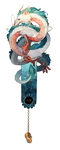 Haku bookmark by ELK64