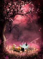 Chihuahua Fairies by Ferelwing