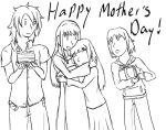 Mother's Day family portrait by XyAckhart