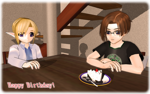 Happy Birthday PolygonTeam by MMDFakewings18