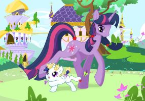 Best foal sitter by Quila-Quila