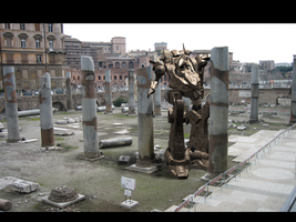 Armored Core Composition by 3dmodeling