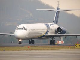 Chartered MD-83 by InDeepSchit