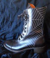 Spider Web Boots by MisticUnicorn