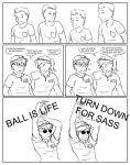 BALL IS LIFE by Safe-As-Houses