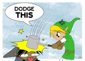 Shadow Link vs Link: Easy win by deizelyn