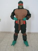 My Michelangelo costume by InnuDoggy