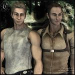 Portrait : Adam and Jacob Mitchell by Childe-Of-Fyre