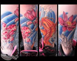 Kio lower leg sleeve by JakubNadrowski