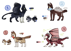 Natural Adopts -CLOSED- by chameleocoonJ