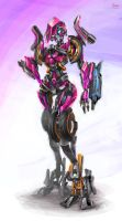 postured Movie Arcee by zgul-osr1113