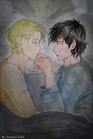 Talk to Me (Strange and Beautiful) - Drarry by yuuyami-artist