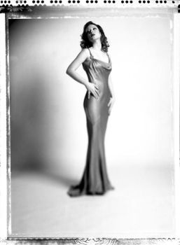 Hurrell polaroid, front view by BettyValentine
