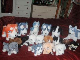 Ginga Plush Collection UPDATED by ShinyToyDinosaurs
