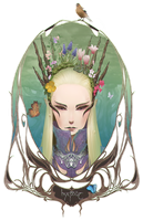 Thranduil in the Springtime of Peace by ChibiWing