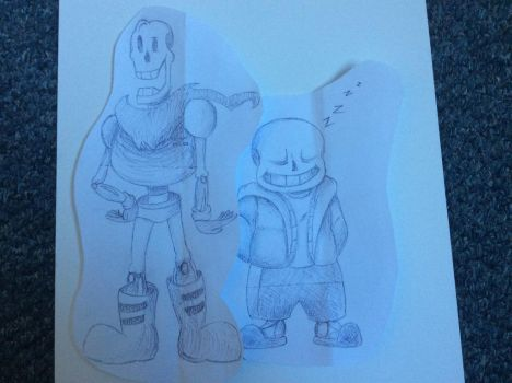 ~Skelebros~ by BlueArtist680