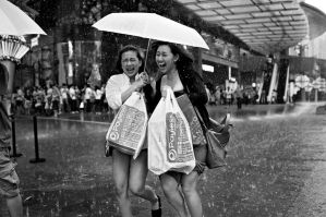 As  Happy as the Rain is Heavy... by dannyst