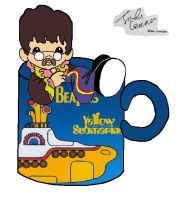 john lennon-yellow submarine by NOODLE101084