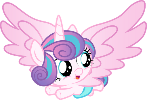 Flying Flurry Heart by CloudyGlow