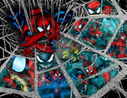 Spidey Collage by Ta2dsoul