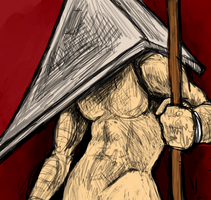 Pyramid Head Contest Entry by ReaWolf