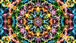 Mandala - Psychedelic by kbi-abstract
