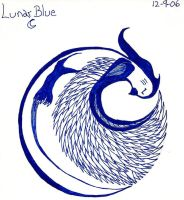 Lunar Blue by KibaDVahnGoth