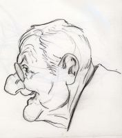 Sketch for Caricature by grobles63