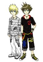 Sora and Roxas - Reality by ResurrectorOfTheDead