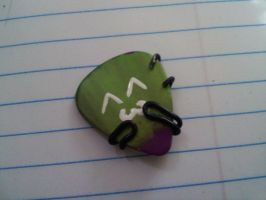 Monster Guitar pick Charm by EllasDesigns